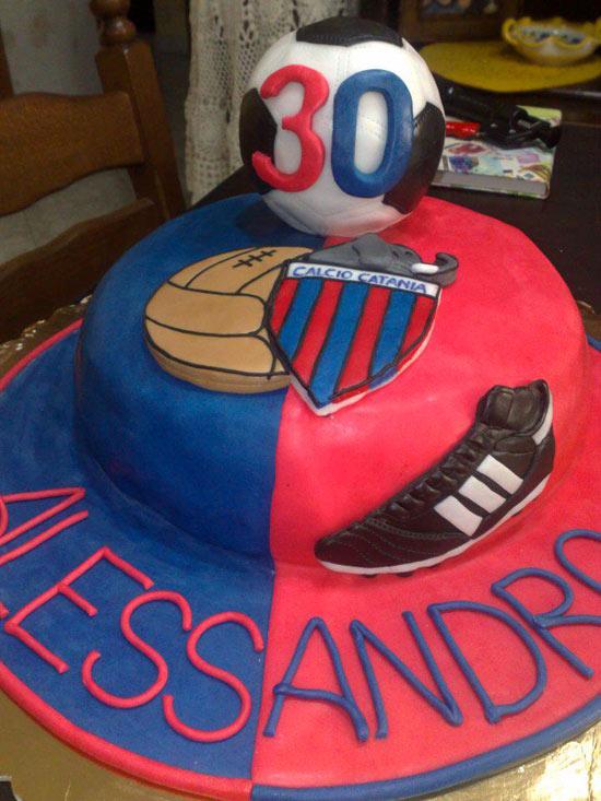 Torte per tifosi del Catania - Cakemania, dolci e cake design
