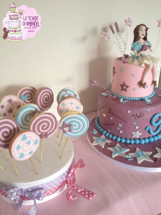 Torta Cake Design Violetta : violetta-cake_tortedisabrina